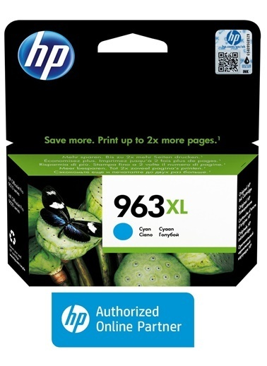 HP HP 3JA27AE (963XL) YUKSEK KAPASITE CYAN MUREKKEP KARTUS Renkli